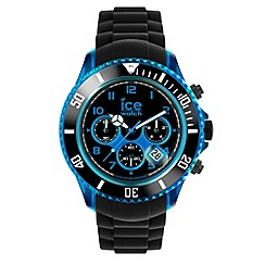 ICE - Unisex watch chrono electrik - black / blue