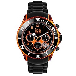 ICE - Unisex watch chrono electrik - black / orange