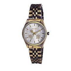 Kahuna - Ladies silver dial bracelet watch