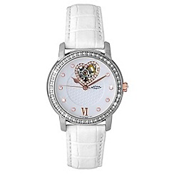 Rotary - Ladies automatic strap watch