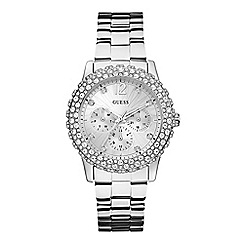 Guess - Ladies silver watch W0335L1
