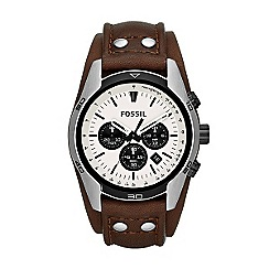 Fossil - Men's chronograph cuff watch from the coachman range