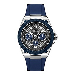 Guess - Men's blue watch W1049G1