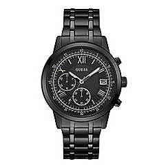 Guess - Men's black chronograph watch W1001G3