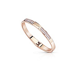 Guess - Rose gold 'Colors' bangle