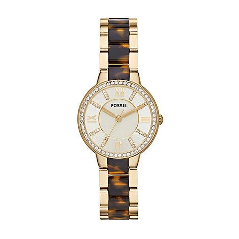 Fossil - Ladies virginia analogue bracelet watch