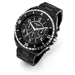 Police - Men's miami II black multi-function watch