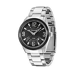 Police - Men's memphis stainless steel bracelet watch with black dial