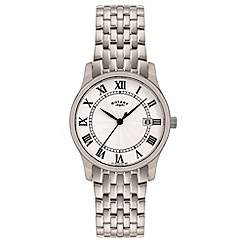 Rotary - Men's stainless steel dress watch