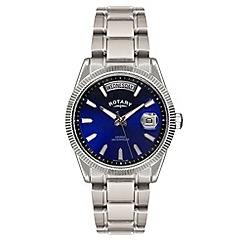 Rotary - Men's stainless steel mesh watch