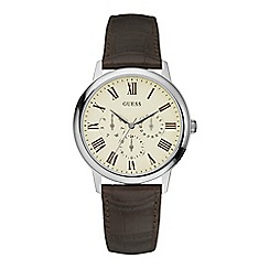 Guess - Men's brown watch W70016G2