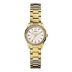 Guess - Ladies gold watch W0445L2