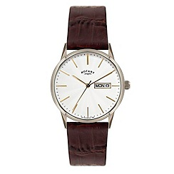 Rotary - Men's white case watch