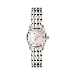 Rotary - Ladies white case strap watch lb00792/07