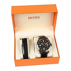 Boss Orange - Men's black 'Cape Town' watch 1570052