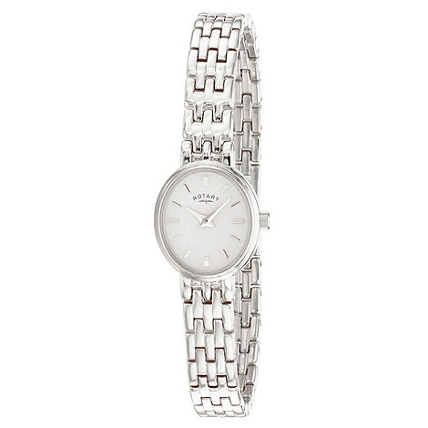 Rotary - Ladies stainless steel cocktail watch