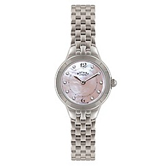 Rotary - Ladies stainless steel bracelet watch