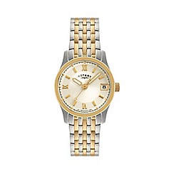 Rotary - Ladies two tone bracelet watch lb00793/09