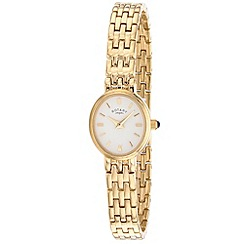 Rotary - Ladies gold plated cocktail watch