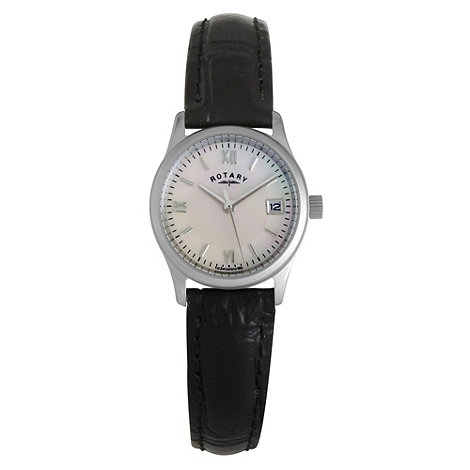 Rotary - Ladies white case dress watch