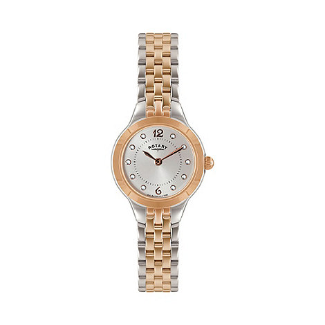 Rotary - Ladies two tone rose bracelet watch