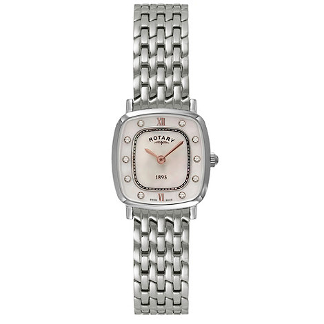 Rotary - Ladies stainless ultra slim watch