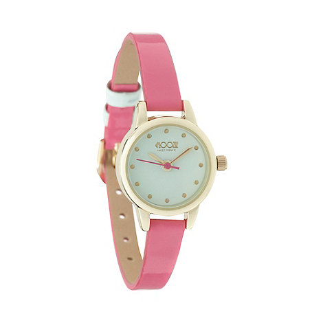 Floozie by Frost French - Ladies skinny pink watch