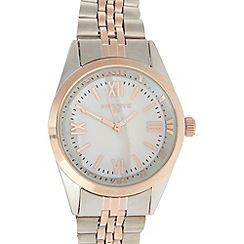 Infinite - Ladies rose stainless steel two tone bracelet watch