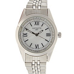 Infinite - Ladies silver stainless steel bracelet watch