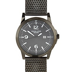 RJR.John Rocha - Designer men's heavy mesh watch
