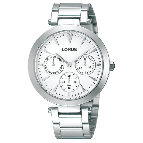 Lorus - Ladies stainless steel multi dial watch