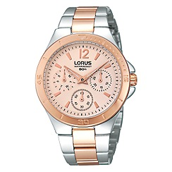 Lorus - Ladies two-tone multi dial watch