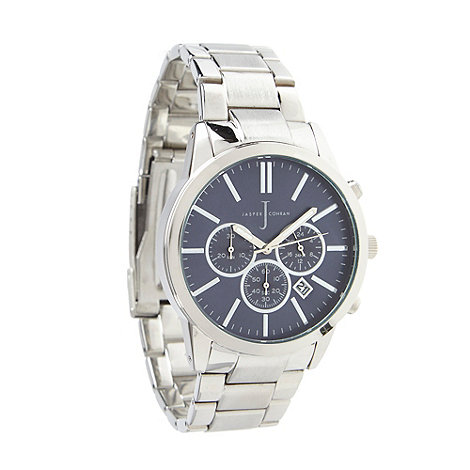 J by Jasper Conran - Designer blue chronograph watch.