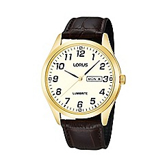 Lorus - Men's gold plated watch
