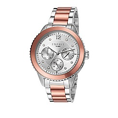 Esprit - Ladies stainless steel multifunction bracelet watch