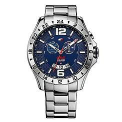 Tommy Hilfiger - Men's blue chronograph bracelet watch