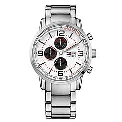 Tommy Hilfiger - Men's silver chronograph bracelet watch