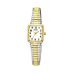 Lorus - Ladies two tone expandable bracelet watch rph58ax9
