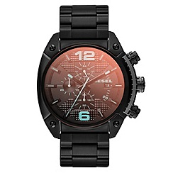 Diesel - Men's iridescent crystal lens chronograph bracelet watch