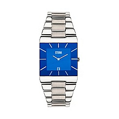 STORM - Men's lazer blue dial Slimline bracelet watch