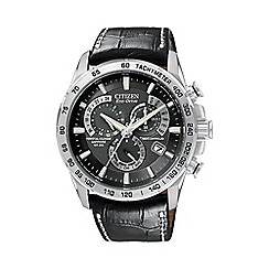 Citizen - Men's 'Eco-Drive' perpetual chrono A.T. watch