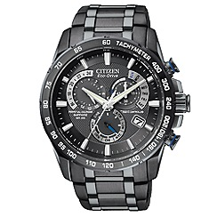 Citizen - Men's Eco-Drive perpetual chrono A.T. watch