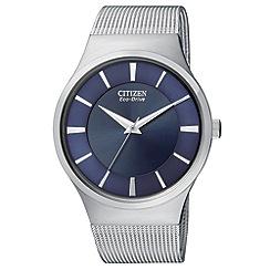 Citizen - Men's 'Eco-Drive' mesh bracelet watch
