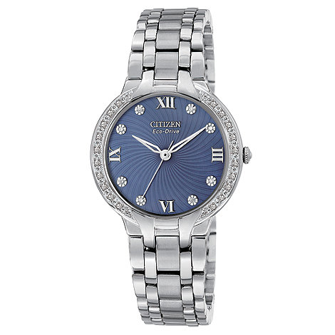 Citizen - Ladies Eco-Drive bella diamond watch