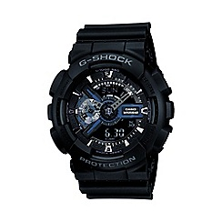 G-shock - Men's black movement digital watch ga-110-1ber