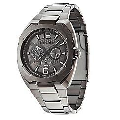Police - Men's 'Maverick model' grey dial bracelet strap watch