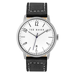 Ted Baker - Men's silver analogue strap watch