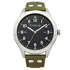 Firetrap - Men's green strap watch