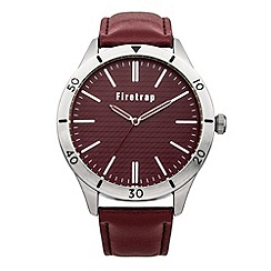 Firetrap - Men's red strap watch
