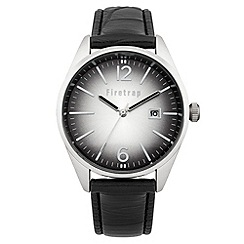 Firetrap - Men's black strap watch